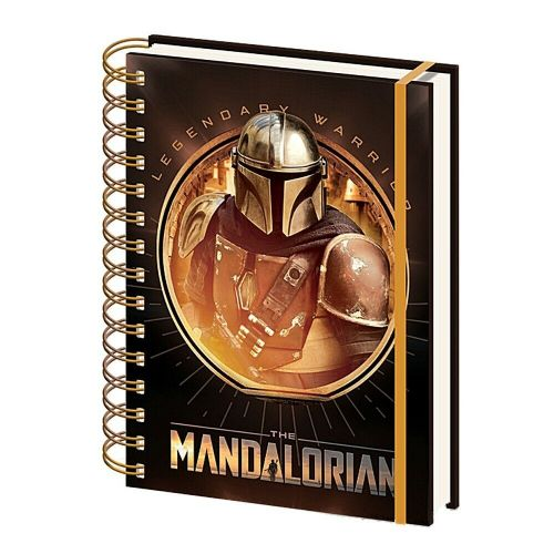 Star Wars The Mandalorian Bounty Hunter A5 Wiro Notebook Note Pad